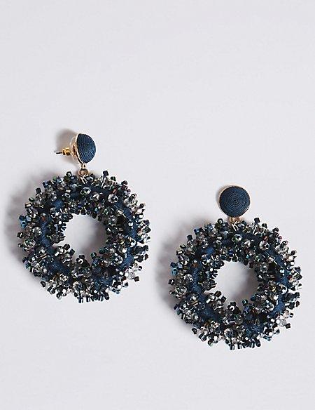 Tinsel Drop Earrings