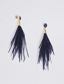 Sparkle Duster Drop Earrings