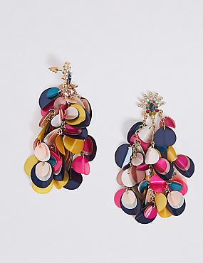 Sequin Shaker Drop Earrings