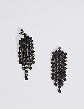 Glamour Chain Drop Earrings