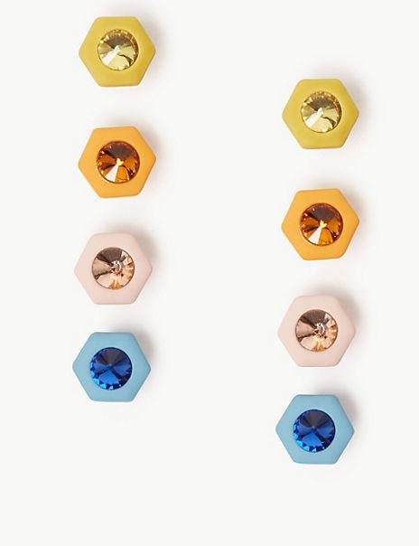 Multi Pack Mini Stud Earrings