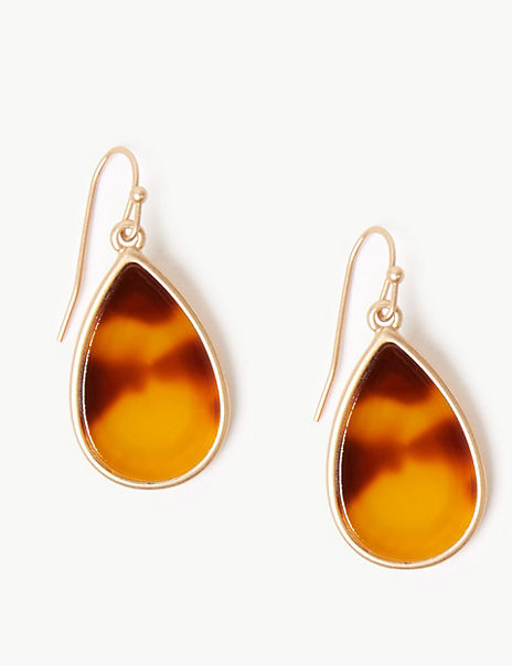 Resin Tear Drop Earrings