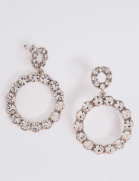Mini Bling Hoop Earrings