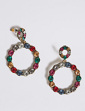 Mini Bling Hoop Earrings