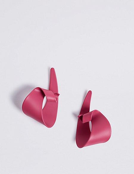 Coated Mismatch Earrings