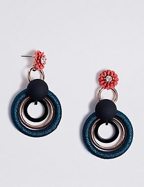 Elaborate Hoop Earrings