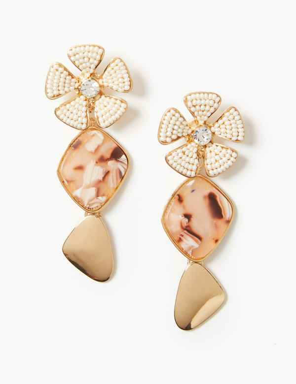 Jewelry & Accessories Lovely 2019 New High Quality Fashion Zircon Earrings Imitation Rhinestone Large Pearl Bow Earrings Good Taste Earrings