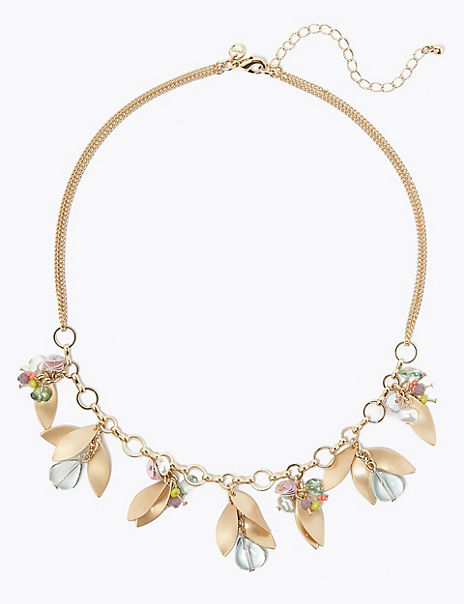 Cluster Collar Necklace