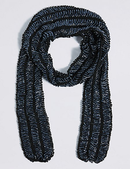 Bugle Skinny Scarf Necklace