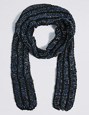 Bugle Skinny Scarf Necklace