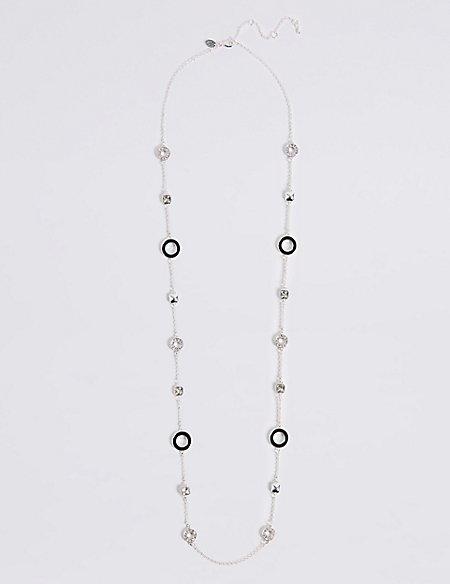 Enamel Rope Necklace