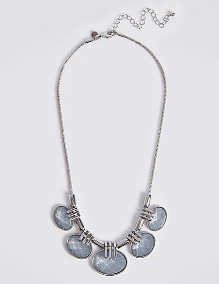 Facet Galactic Necklace