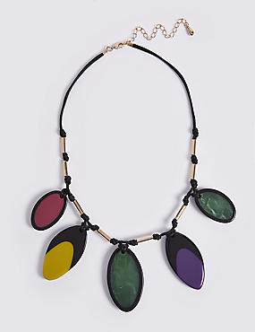 Jelly Petal Collar Necklace