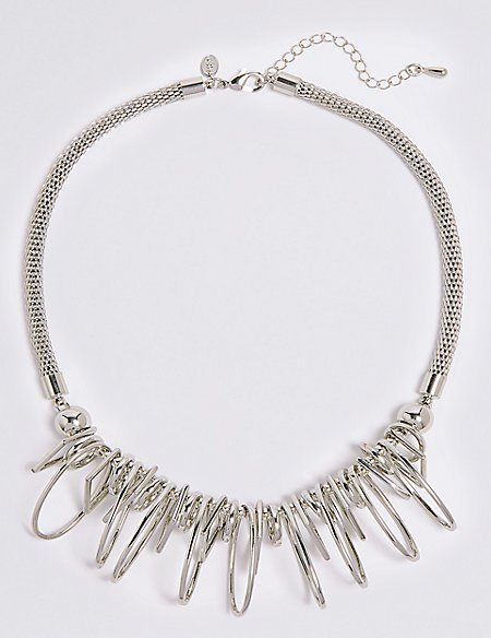 Charm Shaped Collar Necklace