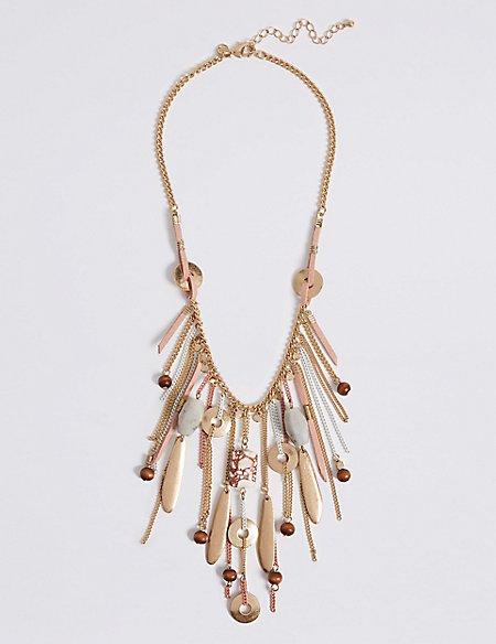 Pebble Drape Necklace