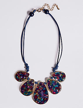Mixed Teardrops Necklace