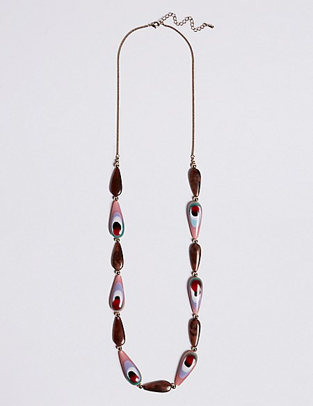 Polished Vivid Shape Necklace