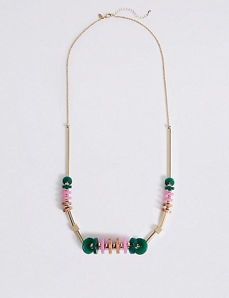 Intense Colour Discs Necklace