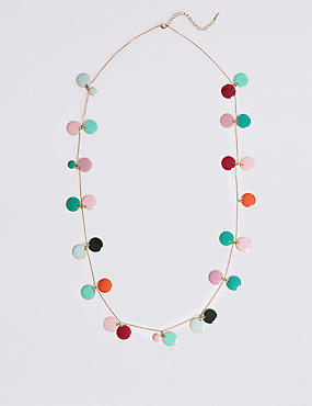Disc Cluster Necklace