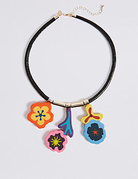 Peace & Love Collar Necklace