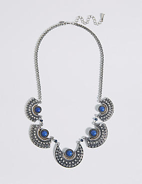 Contoured Collar Necklace
