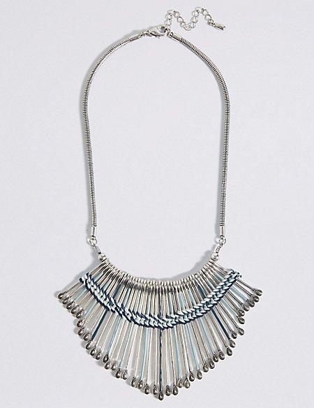 Woven Oar Collar Necklace