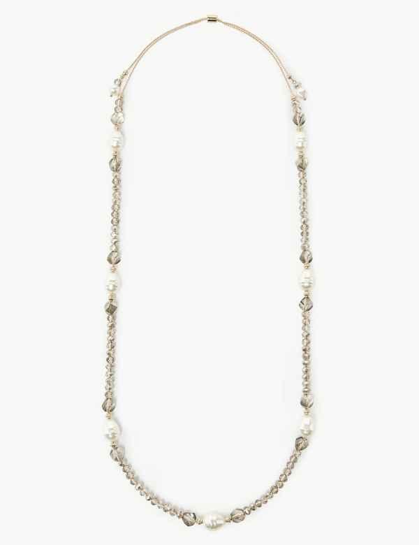 75cc084fa86bc Pearl effect   Womens Jewellery   M&S
