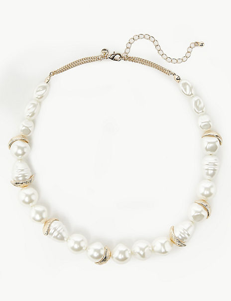 Pearl Effect Necklace