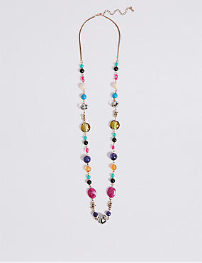 Bead Rope Necklace