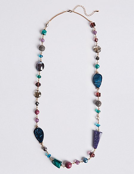 Shaped Glass Necklace