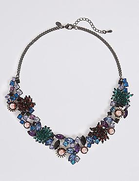 Bricolage Collar Necklace