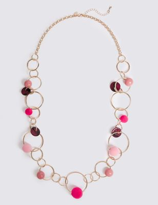 Hula Beads Necklace by Marks & Spencer
