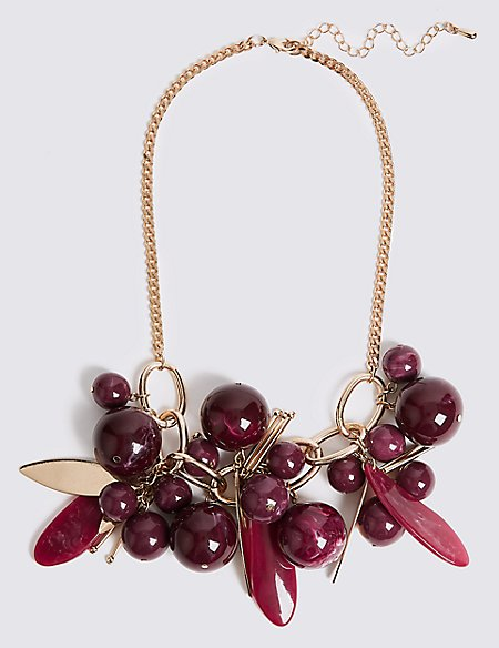 Grape Collar Necklace