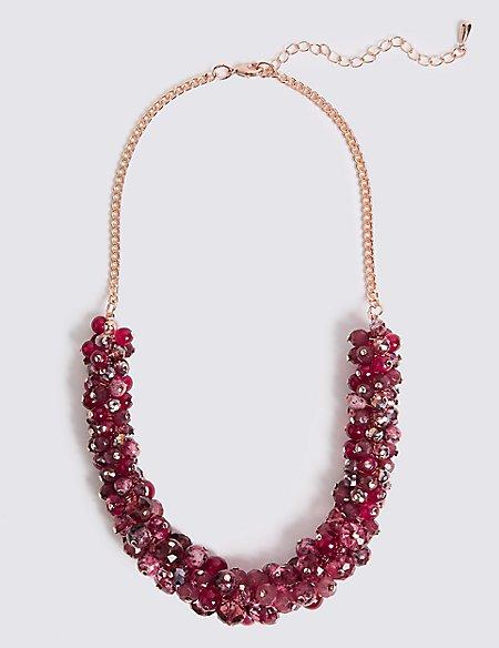 Pomegranate Cluster Necklace