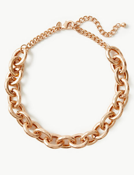 Dented Chain Necklace