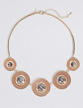 Gem Ring Collar Necklace