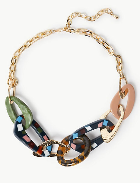 Crazy Link Collar Necklace