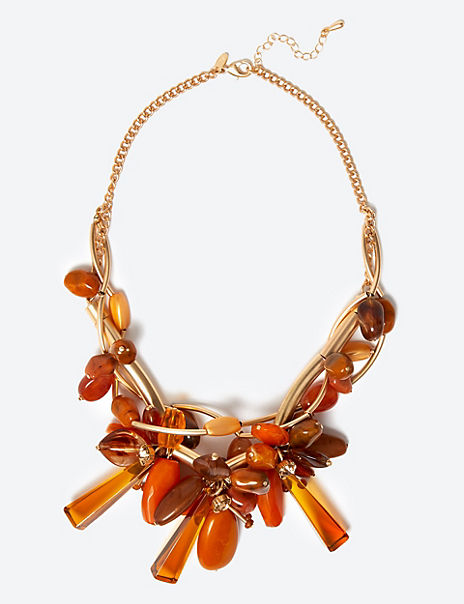 Entwined Flowers Necklace