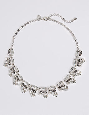 Crystal Mix Collar Necklace