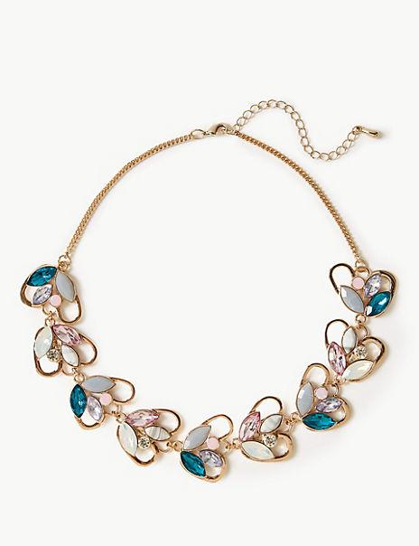 Sparkle Leaf Necklace