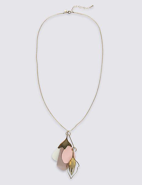 Petal Long Necklace