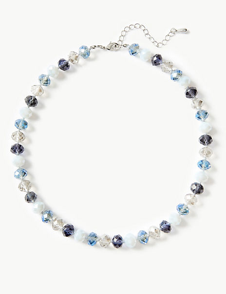 Glass Collar Necklace