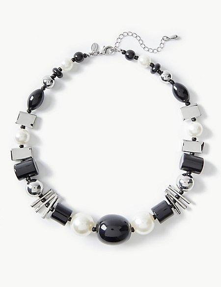 Mixed Shape Necklace