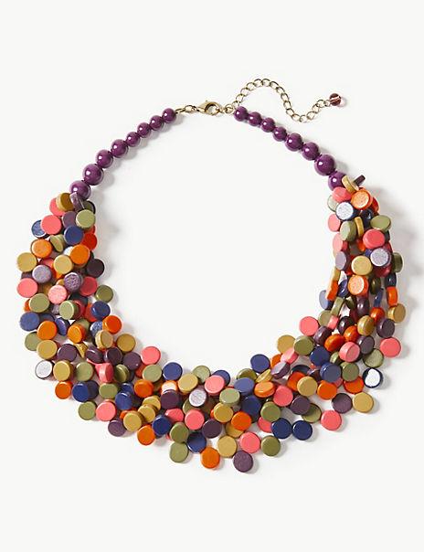 Disc Multi Necklace