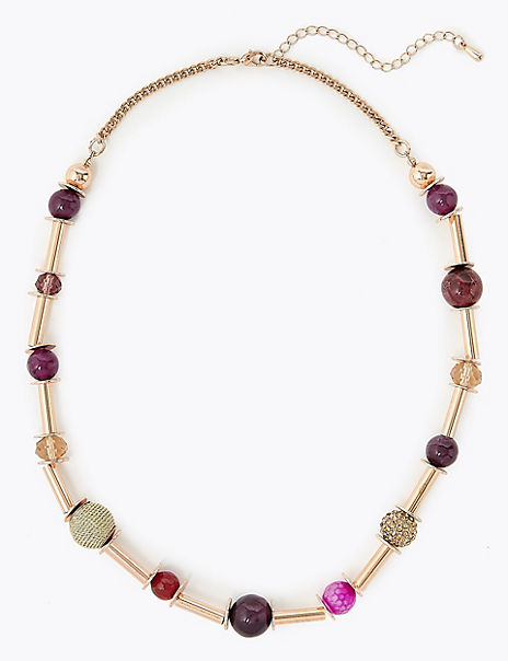 Bar & Bead Necklace