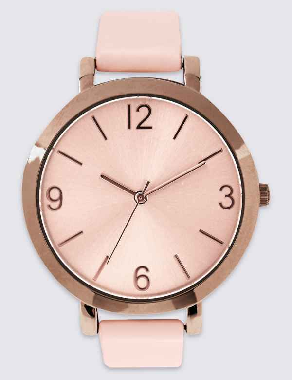 c046ab900745f Smooth Round Face Watch