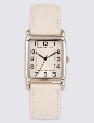 Rectangular Face Watch by Marks & Spencer