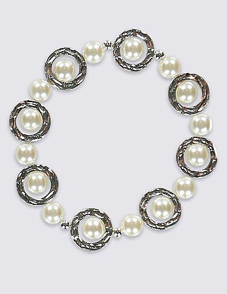 Pearl Circle Bracelet