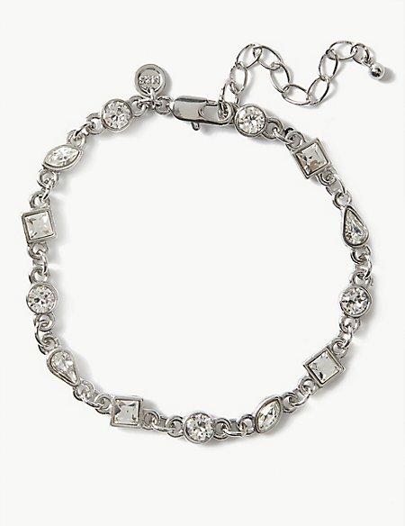 Trail Bracelet With Swarovski® Crystals