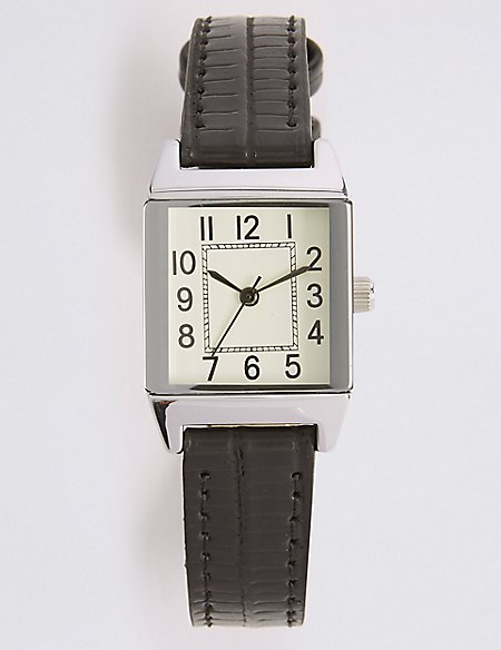 Vintage Square Face Watch